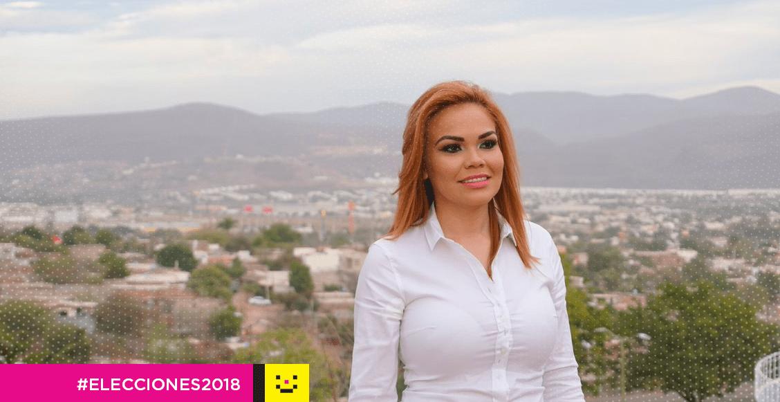 Paola Garate PRI Pack por un voto