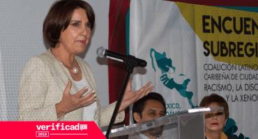 #Verificado2018 Patricia Mercado no dijo que luchará para ampliar plazo legal para abortar