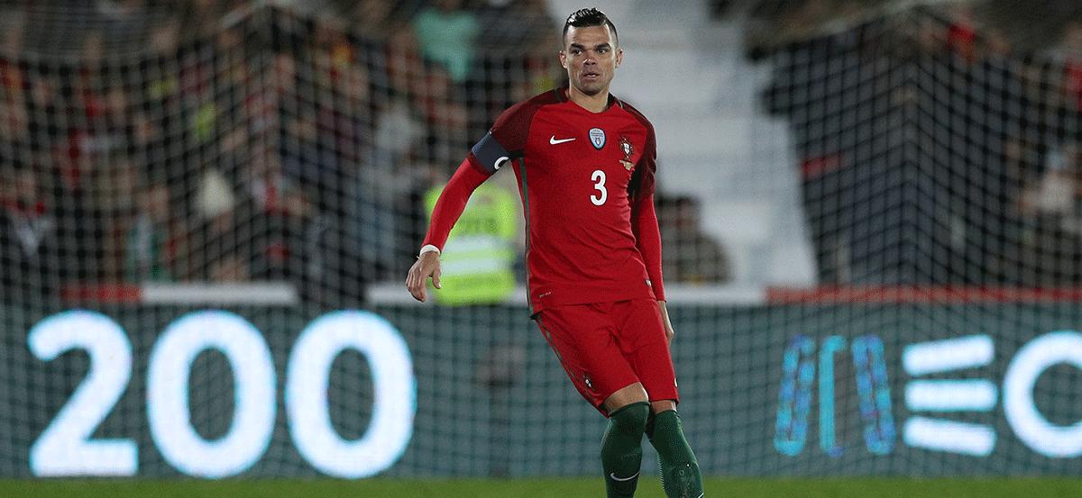 Portugal dio lista definitiva para Rusia 2018