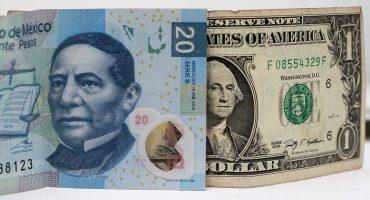 Este martes, el dólar alcanza y supera los 20 pesos en algunos bancos mexicanos
