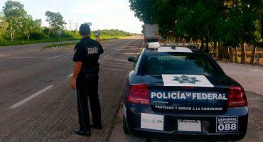 Elementos de la Policía Federal son acusados de brindar protección a 6 camiones en Tamaulipas
