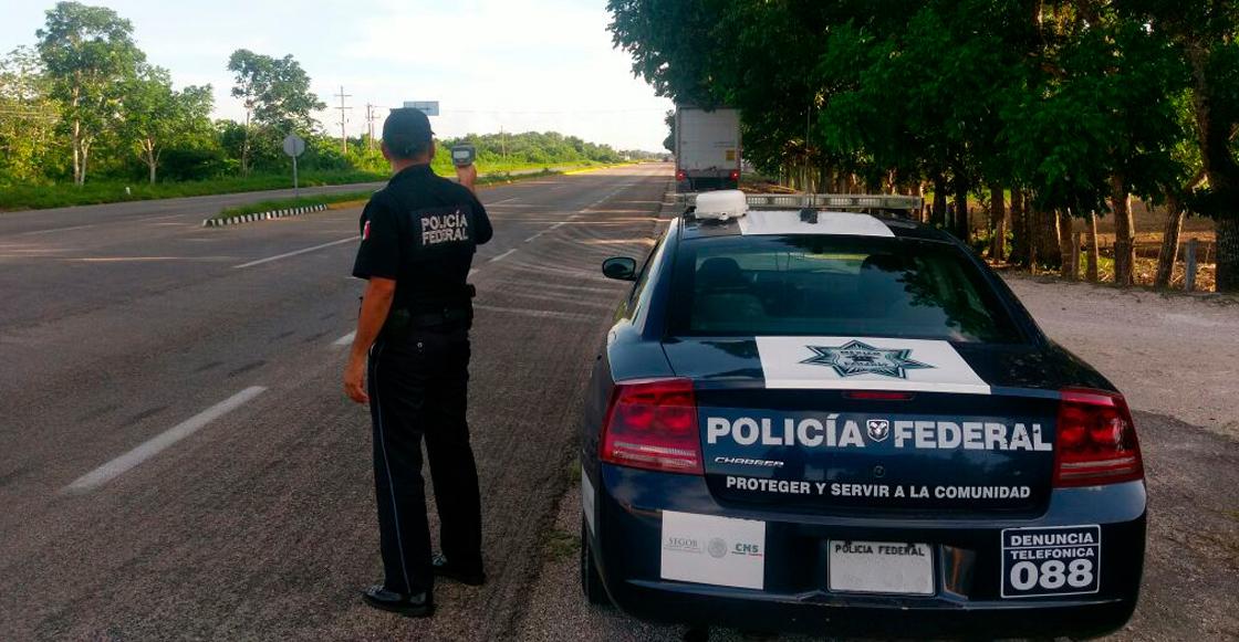 Policía Federal carretera