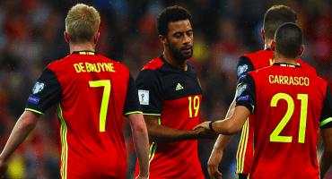 Con sorpresa incluida, Bélgica dio prelista para Rusia 2018