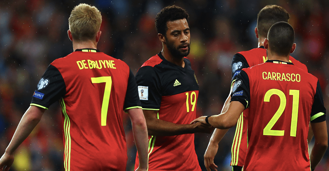 Bélgica dio prelista para Rusia 2018