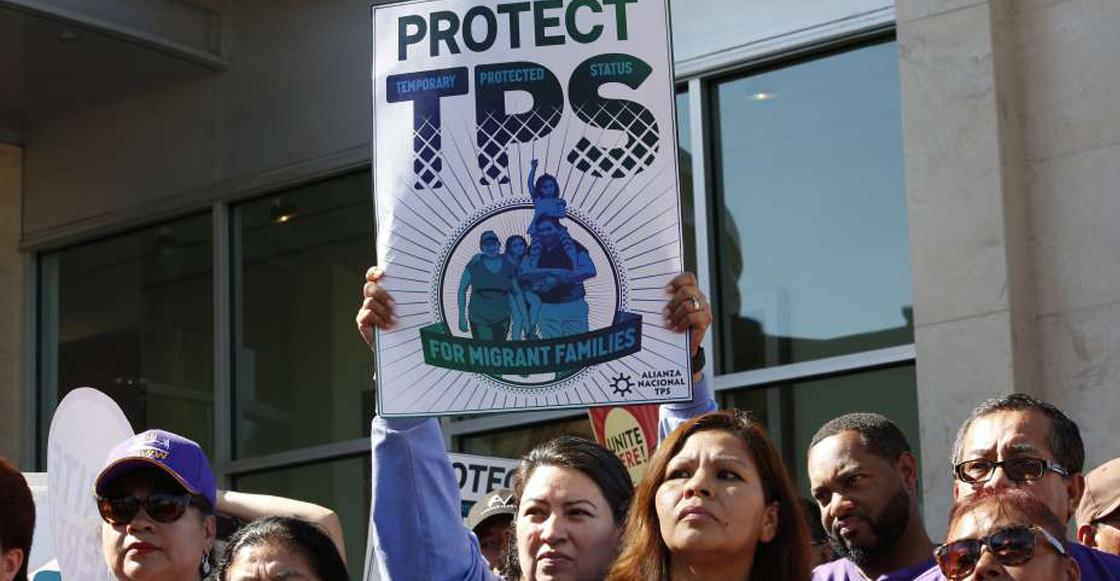 Protesta para la portección TPS
