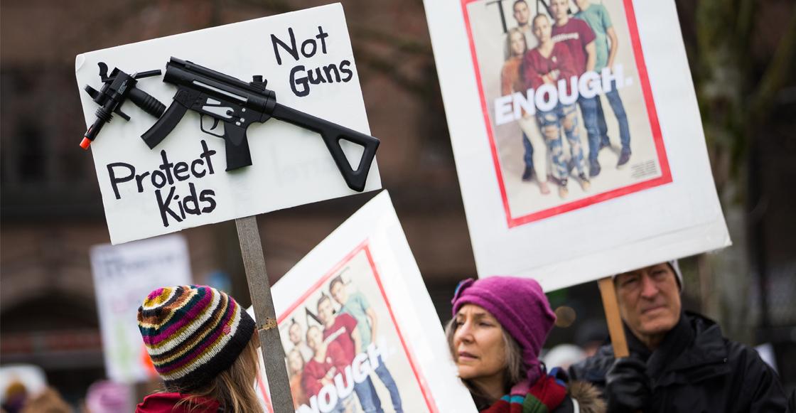 Protestas armas Estados Unidos