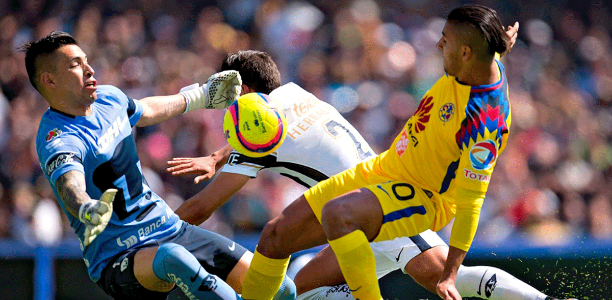 Pumas América 2018