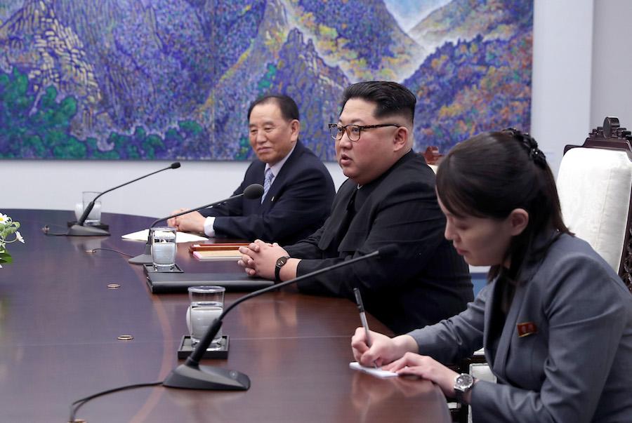 Kim Jong Corea del Norte destruye su centro de pruebas nucleares