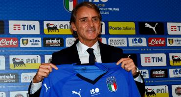 Italia presentó a Roberto Mancini como su nuevo técnico
