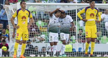 Lo goles de la humillación de Santos al América