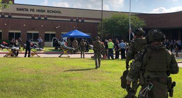 Reportan tiroteo en escuela preparatoria en Texas, Estados Unidos; al menos 8 muertos