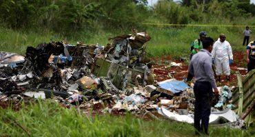 En imágenes: el lamentable accidente de avión en La Habana