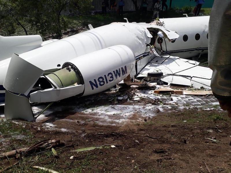 Se estrella avión al aterrizar en Tegucigalpa, Honduras