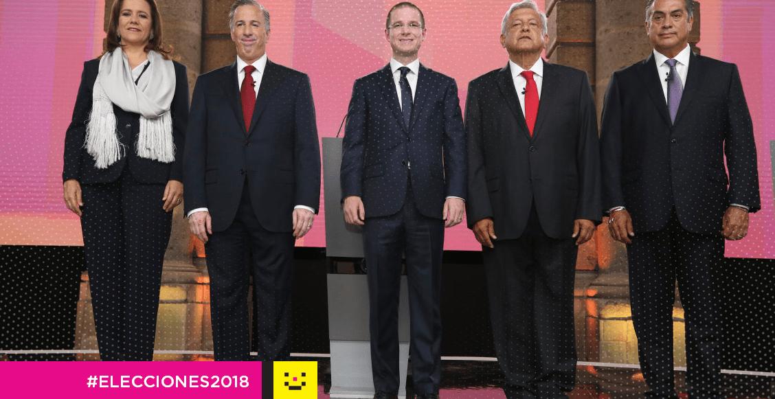 Segundo debate presidencial INE