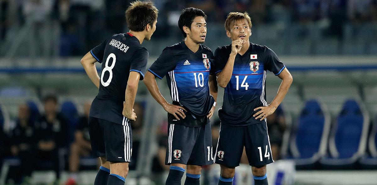 Japón anunció prelista para Rusia 2018