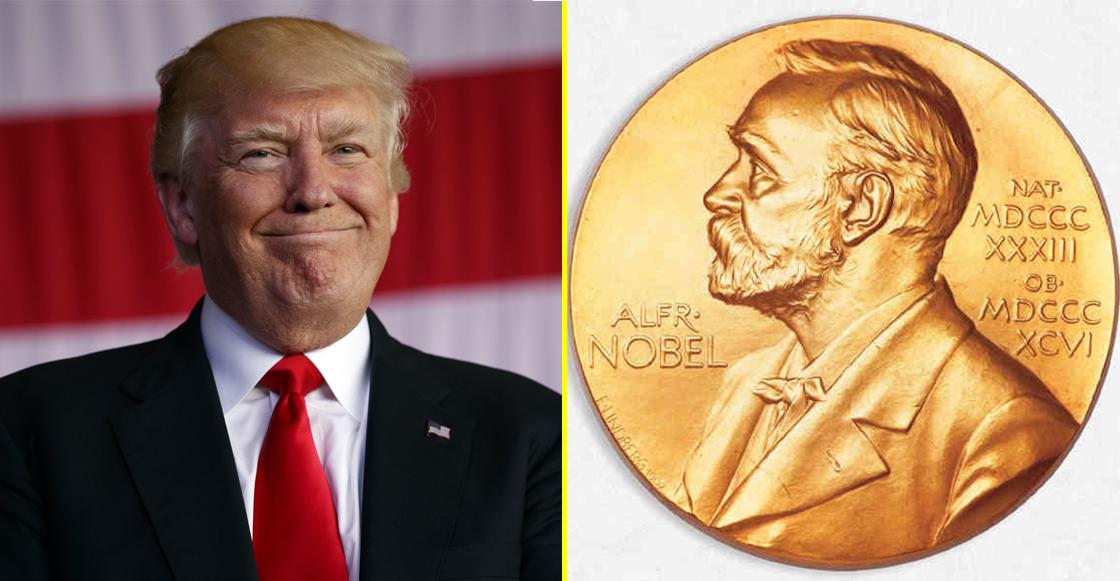 Trump Premio Nobel de la Paz
