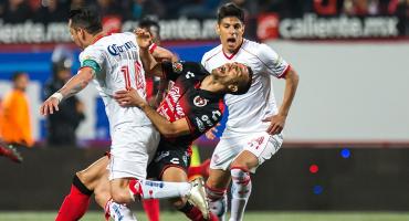El Diablo revivió en la última jugada; aquí los goles entre Xolos y Toluca