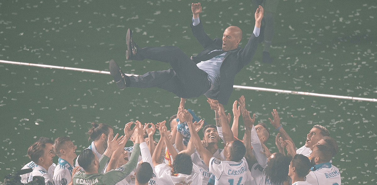 Zinedine Zidane dejó de ser técnico del Real Madrid