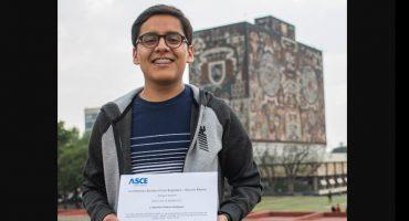 Estudiante de Facultad de Ingeniería de la UNAM gana primer lugar en concurso realizado en Texas, EEUU