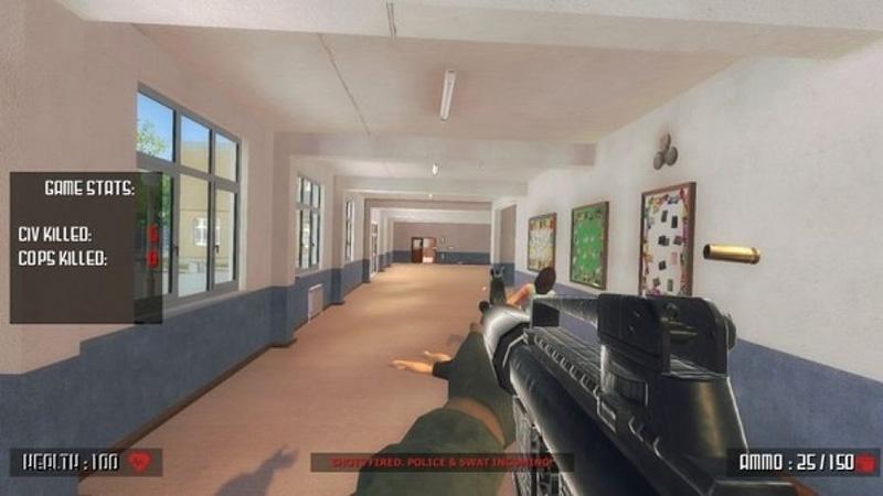 ¿Por qué carajos hay un videojuego que simula un tiroteo escolar?