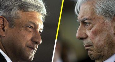 Vargas Llosa dice que AMLO es la resurrección del PRI; presidente responde