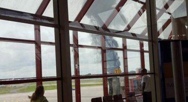 Se estrella un avión con más de 100 pasajeros en La Habana