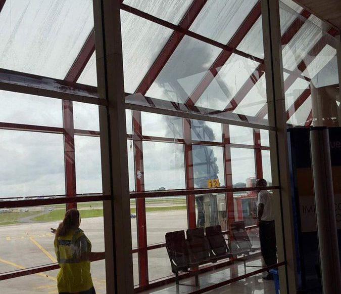 Se desploma avión comercial en aeropuerto internacional José Martí La Habana