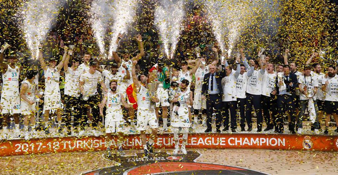 Gusta Ayón gana con el Real Madrid la Euroliga