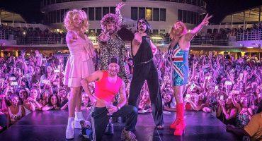Everybooody… if you wannabe my lover! Los Backstreet Boys se disfrazan de las Spice Girls