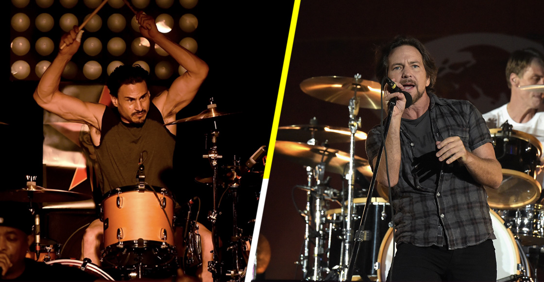 En 1991, el baterista de Rage Against The Machine quiso ser el de Pearl Jam