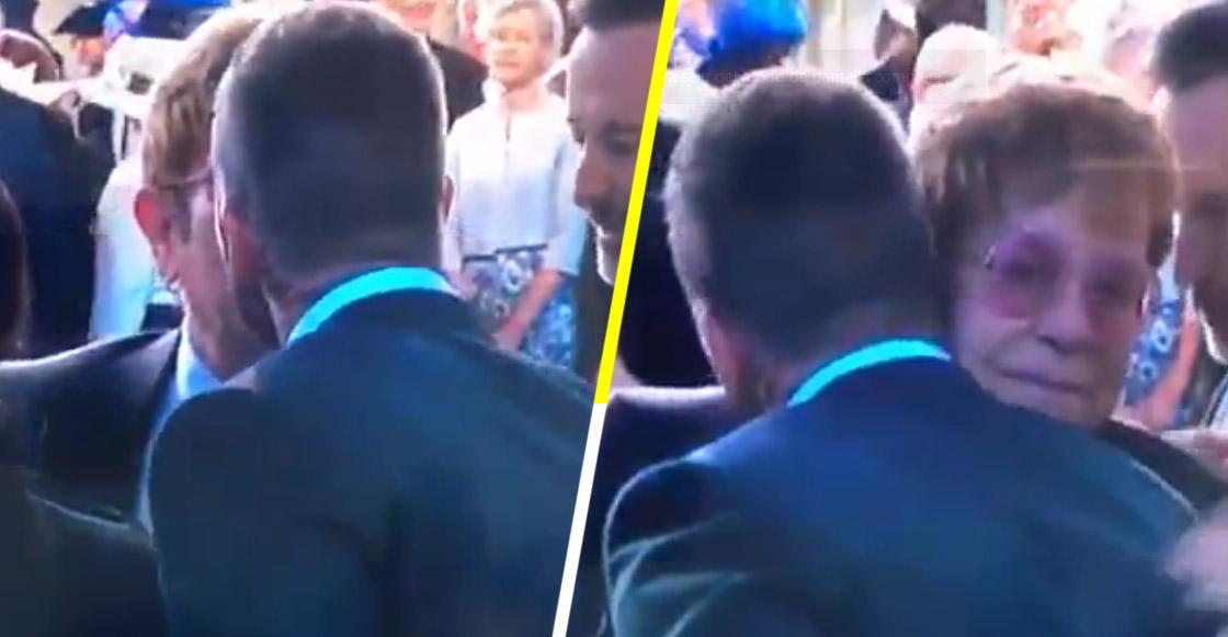 ¿Es cosa del pasado? El beso entre David Beckham y Elton John, en la boda real, que enloqueció las redes sociales