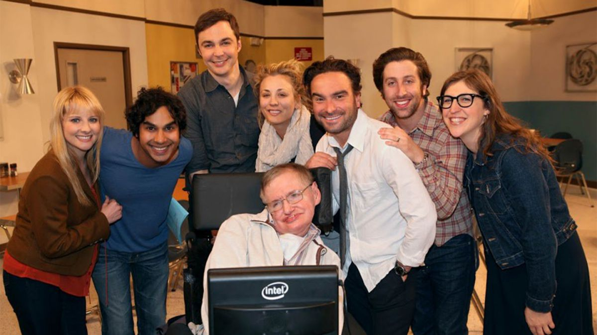 Big Bang Theory con Stephen Hawking