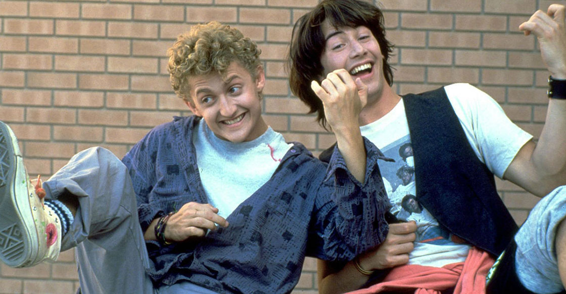 Excellent dude! Keanu Reeves y Alex Winder regresan para la tercera parte de 'Bill & Ted'