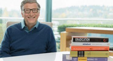 5 libros que debes leer en el verano según Bill Gates