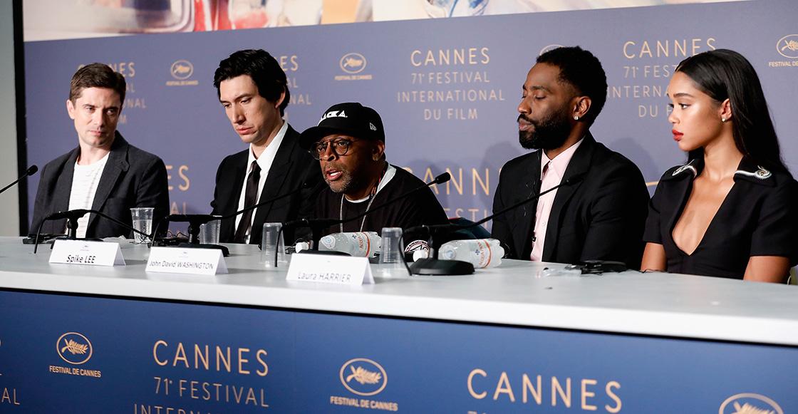 Spike Lee denuncia a Trump en Cannes con un discurso sobre racismo