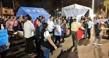 Damnificados del Multifamiliar Tlalpan levantan bloqueo, acuerdan reunión con Comisión de Reconstrucción
