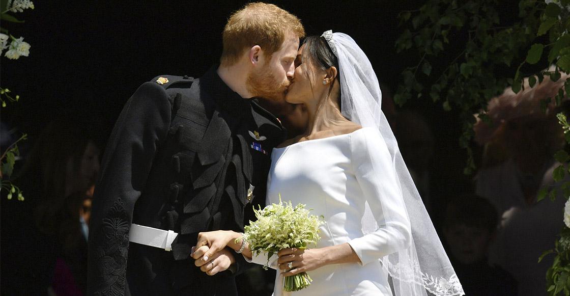 15 fotos de lo kermoza que estuvo la boda real de Meghan Markle y el príncipe Harry
