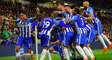 Brighton venció al Manchester United para asegurar la salvación
