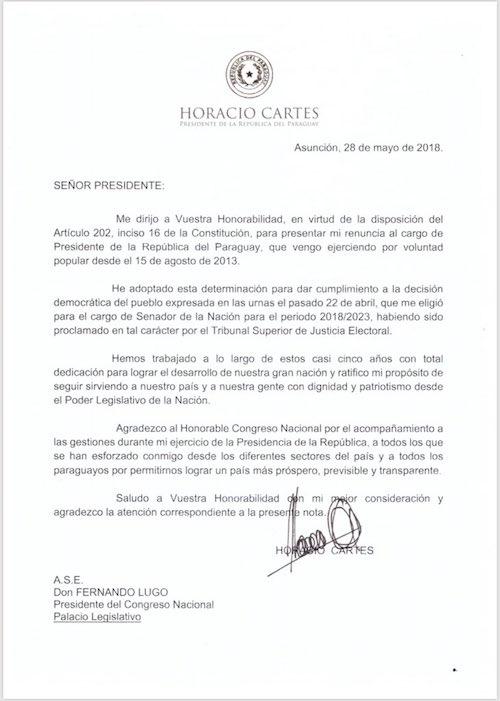 carta-renuncia-presidente-paraguay