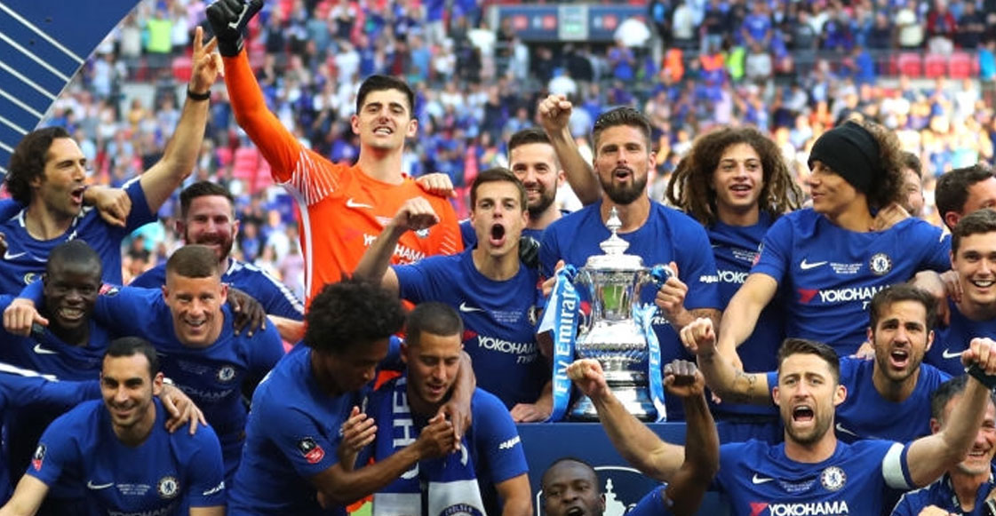 Chelsea derrota al Manchester United, y es campeón de la FA Cup