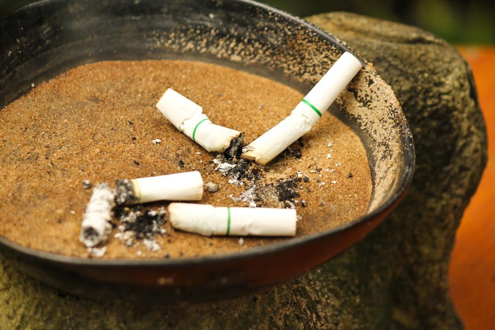 Cigarros apagados