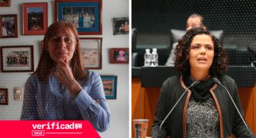 #Verificado2018 Tatiana Clouthier tuiteó datos falsos y Gómez del Campo manipuló la información