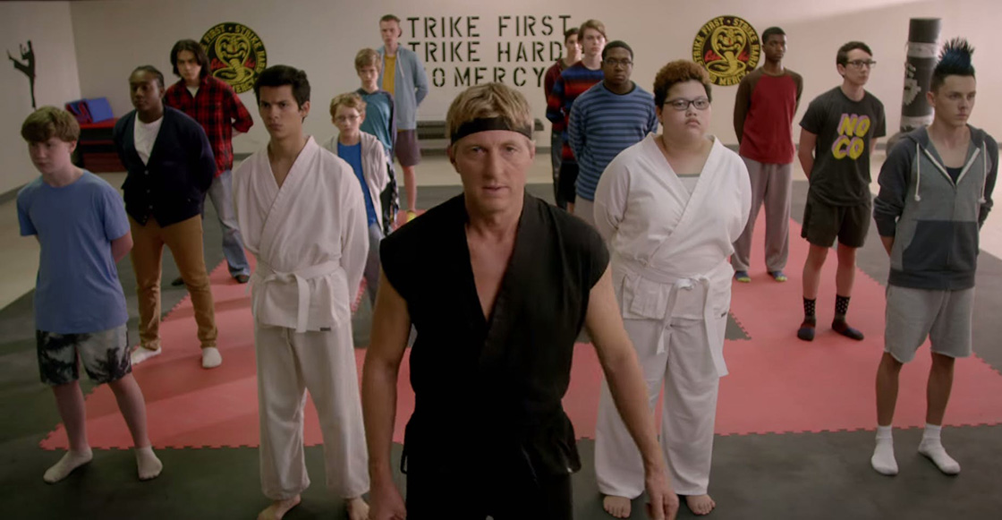 'Cobra Kai' de YouTube Red marca el regreso de una parte de la cultura pop