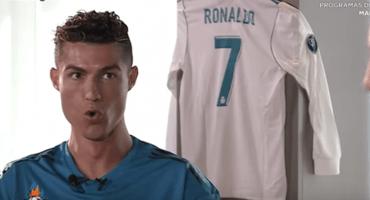 """El video en el que Cristiano Ronaldo te enseña a gritar: """"Siiiiiiuuuu"""""""