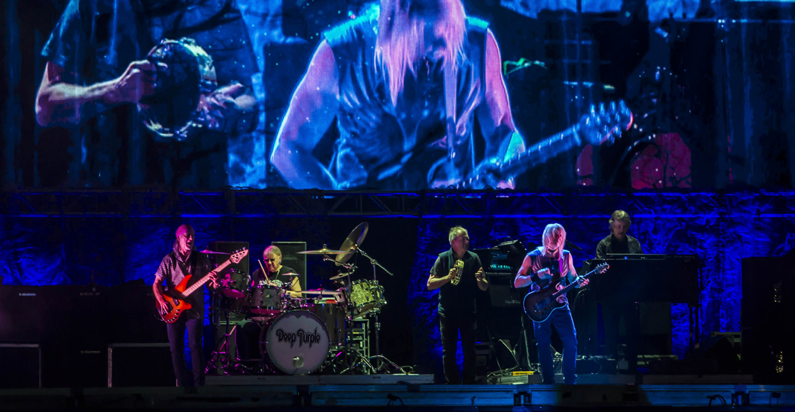 Deep Purple en la CDMX