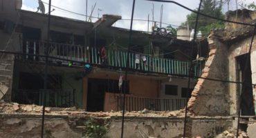 Tanque de gas explota en una vecindad de Santa María la Ribera; un lesionado