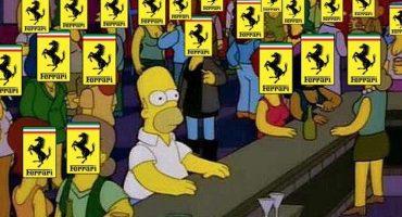 La historia detrás del meme: ¿Cuándo has visto un Ferrari con calcomanías?