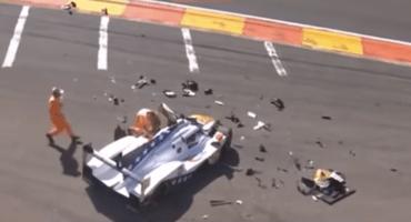 Nieto de Fittipaldi se fractura ambas piernas tras impactante choque