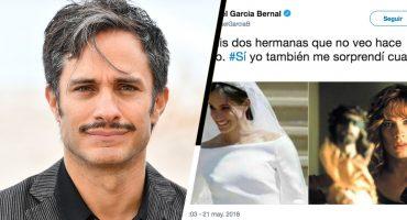 La respuesta ÉPICA de Gael García tras ser trolleado con memes de la boda real