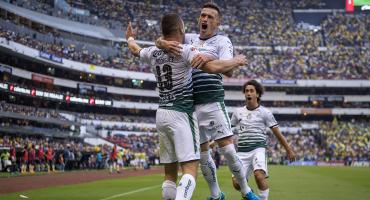Los goles en el Azteca; América no pudo ¡Pase usted!